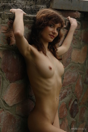 alluring amateur presents her