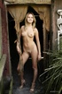 Aesthetic young blonde is having an awesome naked body