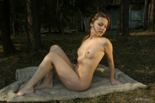 passionate small-tit milf poses