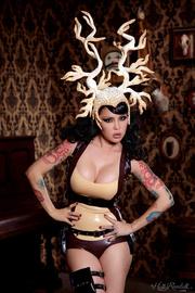 tattooed goddess with full
