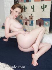nude brunette flaunts hot