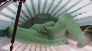 Teen twink with stylish haircut in undressing in solarium - XXXonXXX - Pic 4