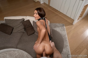 Five fair brunettes with widely spreadab - XXX Dessert - Picture 17