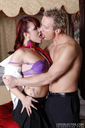 Alluring two brunettes, two blondes and  - XXX Dessert - Picture 3