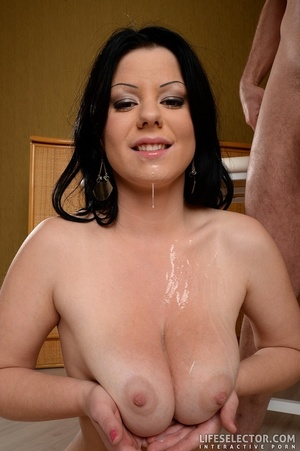 Hot milf with huge tits gets fucked by t - XXX Dessert - Picture 9