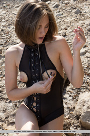 kinky slut bodysuit teases