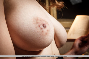 Brunette with natural tits gets turned o - XXX Dessert - Picture 6