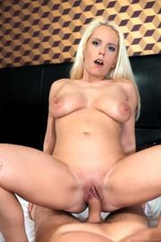 hot tattooed blonde blue