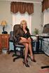 adorable blonde milf black