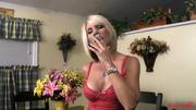 pretty blonde milf smoker