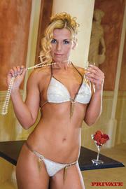 alluring hottie white lingerie