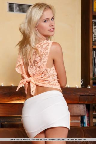 blonde girl horny brown