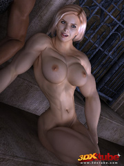 Horny muscular blonde prisoner sucks and fucks - Picture 2