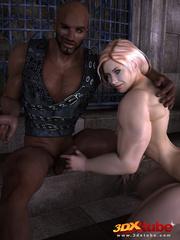Horny muscular blonde prisoner sucks and fucks - Picture 5