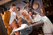naughty french maids pose