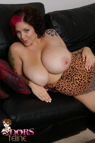 cute tattooed busty hottie