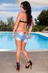 slutty babe takes bikini
