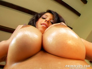 Brunette girl with huge tits gets fucked - XXX Dessert - Picture 5