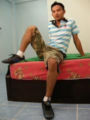 hot asian pose his