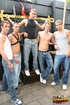 Handsome studs pose topless and with shirts and displays their hunk bodies