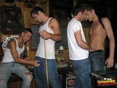 black, gay, jeans, white