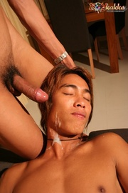 hot asian dude red