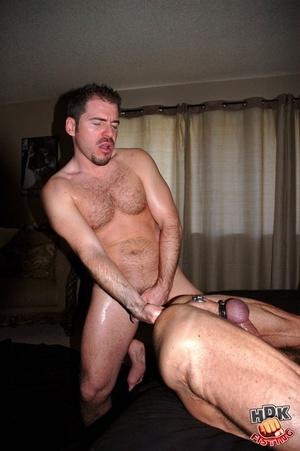 fisting men Hairy naked