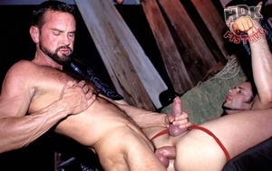 Handsome stud suck the dick of a hairy d - XXX Dessert - Picture 7