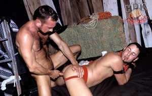 Handsome stud suck the dick of a hairy d - XXX Dessert - Picture 12