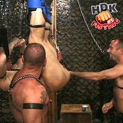handsome hunk gets hanged