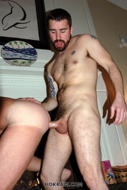 hot dude and beareded