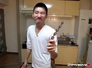 japanese dude slowly peels