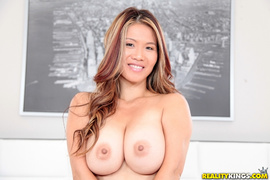 asian, big tits, snatch, undressing