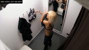 astonishing blonde trying new