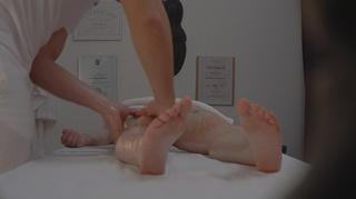 skillful masseur seduce young