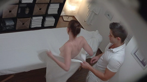 Petite teen with ponytail is swallowing  - XXX Dessert - Picture 3