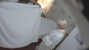 Bleached goddess is lying naked and enjo - XXX Dessert - Picture 3