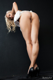 hot blonde looks sexy