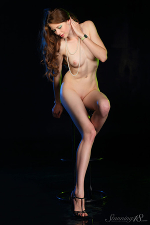 Brunette in black gown reaveal milky whi - XXX Dessert - Picture 10