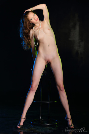 Brunette in black gown reaveal milky whi - XXX Dessert - Picture 12