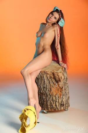Kennedy redhead sexy striptease porn video