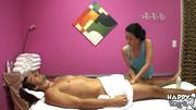 alluring masseuse strokes guy
