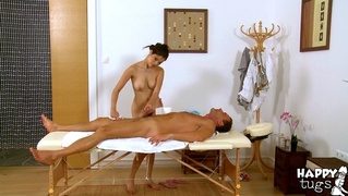 doll, massage, table