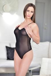hot shaped brunette black