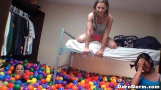room full balls college