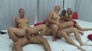group swingers banging passionately