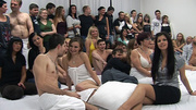 awesome sloppy orgy with