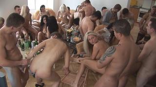 nasty naked sluts drinking
