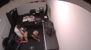 Bootylicious blonde teen in black dress  - XXX Dessert - Picture 11