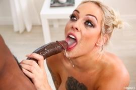 bitch, blonde, deep throat, rough sex